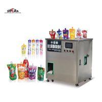 Automatic Spout Pouch Liquid Water Capping Machine Mango Juice Filling Machine