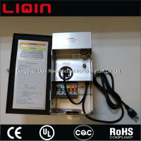 Multi tap low voltage outdoor garden landscape lighting transformer
