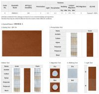 Leather Dyestuff | Orange