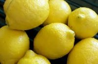 Fresh Eureka Lemons Yellow