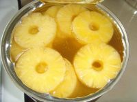 Canned Pineapple sliceed in Light Syrup