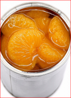 Sweet Canned Mandarin Orange in Canned Fruit
