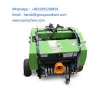 Hay and Straw Dry Grass Baler Machine