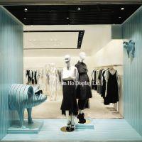 Ho Display Fiberglass Triple Stripes Pig Window Display Props Supplier China Visual Merchandising Display