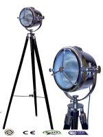 Decorative Unique Floor Lamp Spot Light adjustable wood base