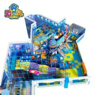 Mechanical theme indoor playground