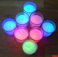 LED candle, magic & color changing