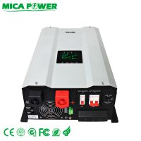 4-6KW Split output off grid inverters with solar charger controller