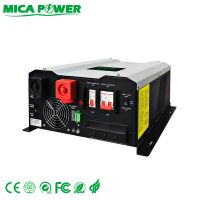 8-12KW Split output off grid inverters with solar charger controller
