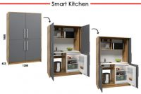 Smart kitchens - compact unique kitchens with multifunctional units