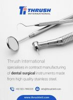 Dental Instruments, Forceps, Root Elevators, Crown removers, Implants