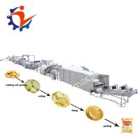 Commercial Used Stainless Steel Potato Chips Production Line