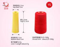 100% spun polyester thread