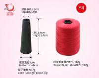 100%spun polyester thread