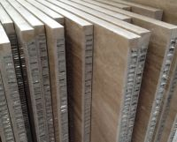 Stone honeycomb panels for exterior wall cladding, composite stone panels for wall