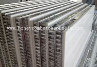 Stone Honeycomb Panels for wall cladding, Honeycomb Stone Panels for wall cladding
