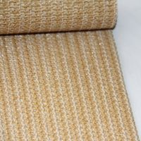 HDPE virgin 320g Garden house HDPE beige shade net /98% shade rate