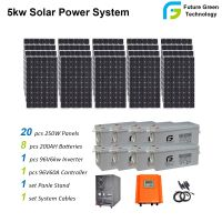5kw 8kw 10kw 20kw Hybrid off Grid PV Energy Solar Power Energy System