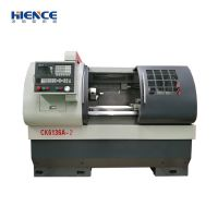 High accuracy automatic cnc metal cutting lathe machine price CK6136A-2