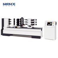 China automatic new three spindle cnc wood cutting lathe machine price H-T150D-TM