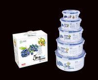 PP plastic food grade airtight food crisper R-8807