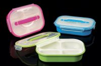 PP plastic bento box airtight lunch box micro wave safe R-3002