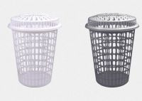 PP plastic laundry basket with cover GLB-001