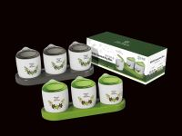 PP plastic food safe seasoning box R-5018