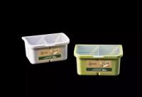 PP plastic plus wheat food safe seasoning box R-8053
