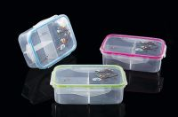 PP plastic bento box airtight lunch box micro wave safe R-1065