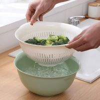 PP plastic drain basket cleaning basket vegetable basket