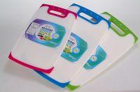 PP plastic tissue box with printing design