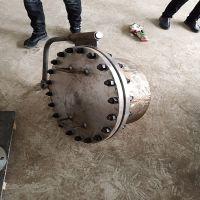 Manhole flange