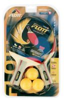 FLOTT wholesale table tennis set with two rackets 3 balls