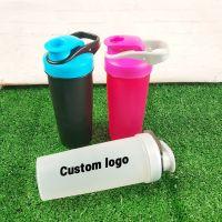 750ml/25oz Plastic protein shaker sport bottle