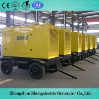 18kVA-2250kVA 50Hz/60Hz Yuchai Commercial Industrial Soundproof Electrical Mobile Home Standby Power Diesel Generator Set Price