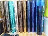 Polyester film electroplating