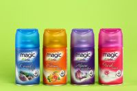 Air fresheners SKY WIND_260ml, series and MAGIC AIR_260ml (replaceable bottle for automatic dispenser; universal)