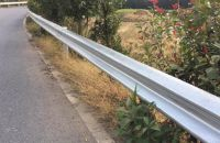 Corrugated Highway Guardrail
