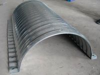 Semi-circle Galvanized Metal Steel Corrugated Culvert Pipe