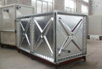 Hot Dip Galvanized Panel Rectangular HDG Water Storage Tanks factory
