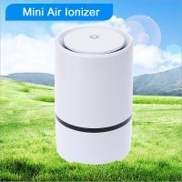 GL-2103 Portable Air Filter Cleaning Machine / HEPA filter Home Air Purifier/ USB Charging Release Anion Air Freshener
