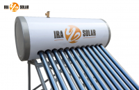 Heat pipe pressurized solar water heater 150L12tubes-GL model(25degree)