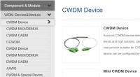 WDM device
