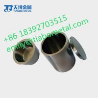 High quality tungsten carbide crucible application in quartz glass melting furnace.