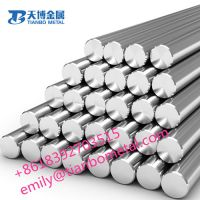 molybdenum/ mo/ moly rod bar hot rolling, cleaning, polished manufacturer from china baoji tianbo