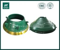 Symons Crusher Parts, Spring Cone Liner, American Cone Parts