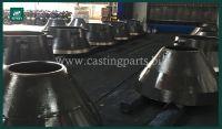 Sandvik cone parts, Cone Crusher parts, Concave & Mantle , Bowl Liner, Sandvik Crusher Liners