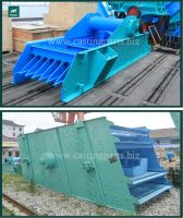 high quality reasonable price vibrating screen for aggregates
