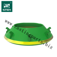 Concave for stone crusher, cone crusher,bowl liner